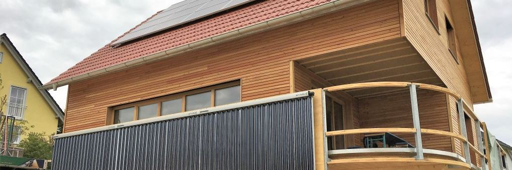 Einfamilienhaus mit Holzkeller